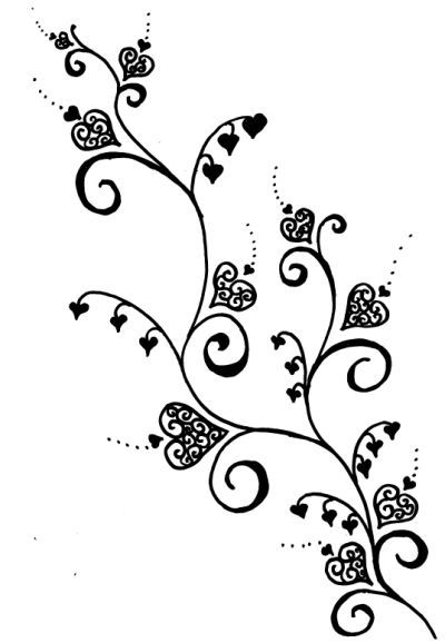 heart vine tattoo designs | fashion tattoos | pinterest | vine
