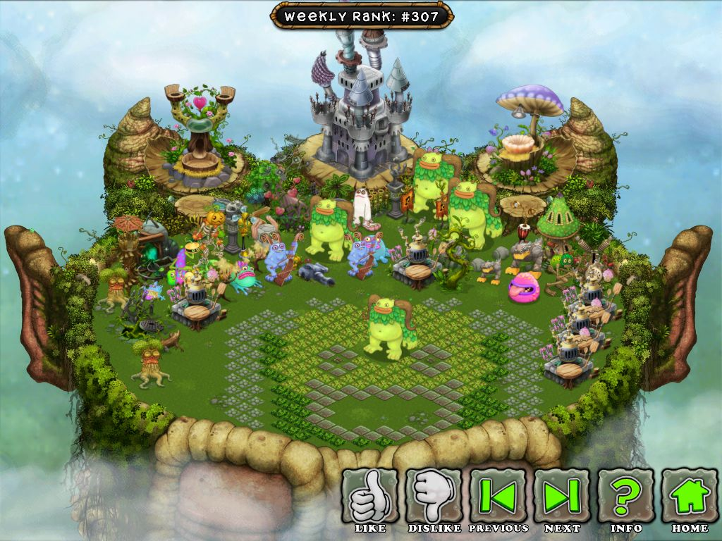 What Makes a Top Island? My singing monsters, Singing