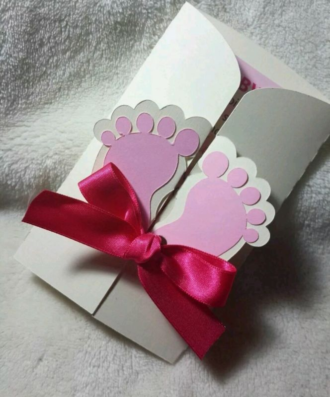 Details About 10 Baby Shower Custom Invitation Cards