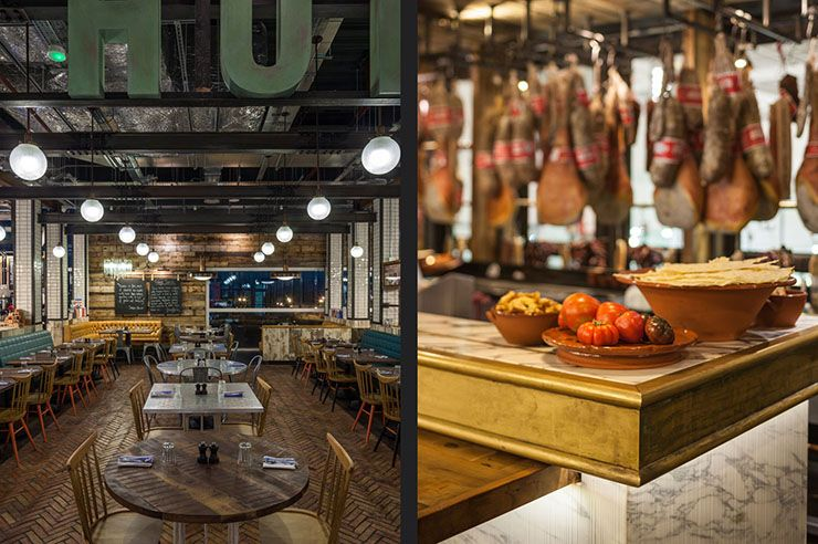 Award Winning Restaurants Jamie Oliver At Gatwick Airport Gastronomie Projekte Einrichtung