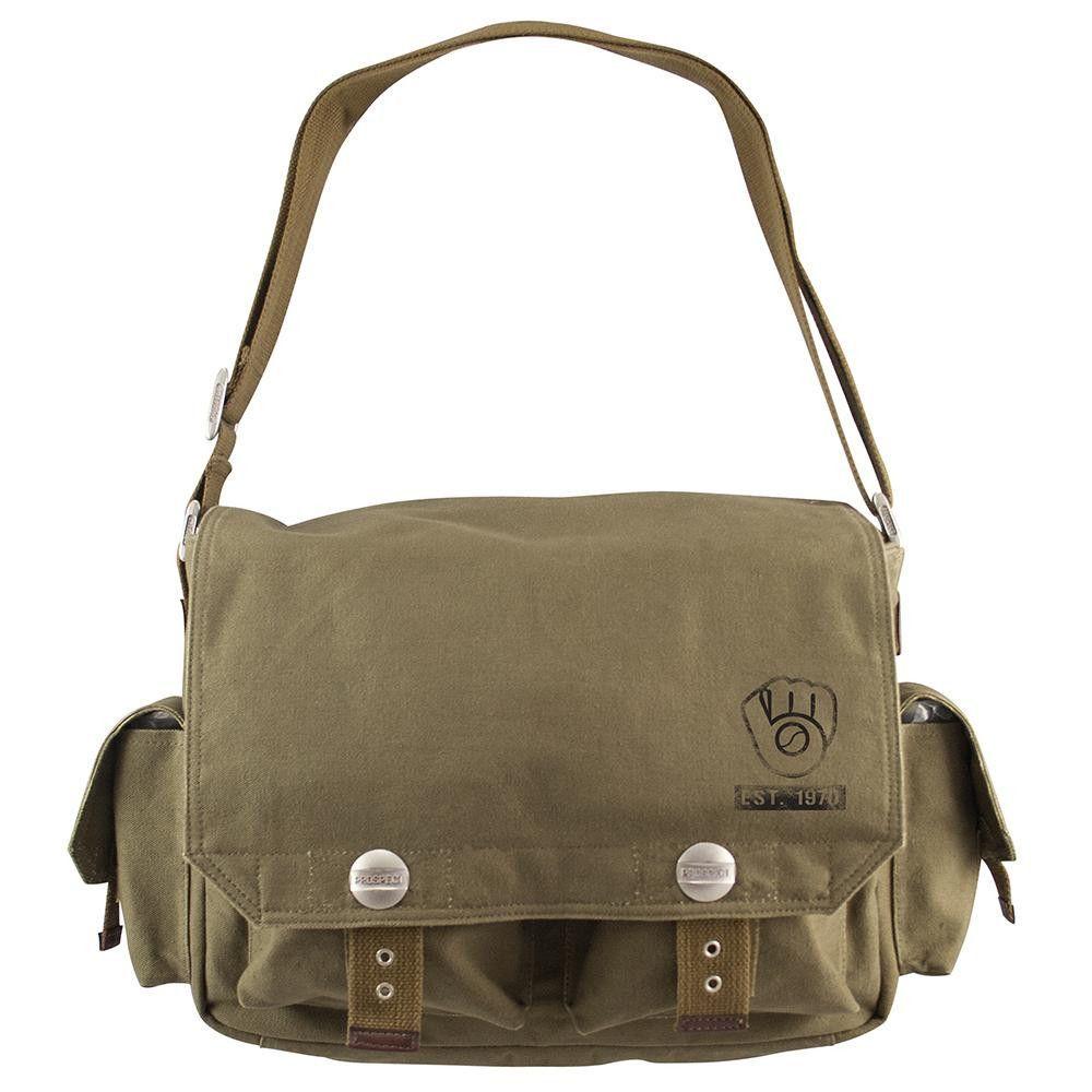 Milwaukee Brewers MLB Prospect Deluxe Messenger Bag