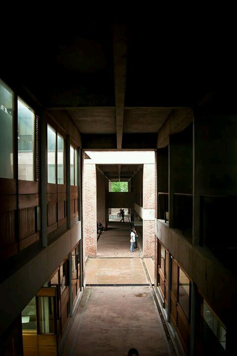 School Of Architecture Cept Ahmedabad Bv Doshi Buildings I