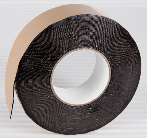 Butyl Seal Is A Double Sided Rubber Tape Used To Join Plastic Together By Overlapping The Edges And Applying Butyl Seal In Tape Heat Shrink Wrap Concrete Wall