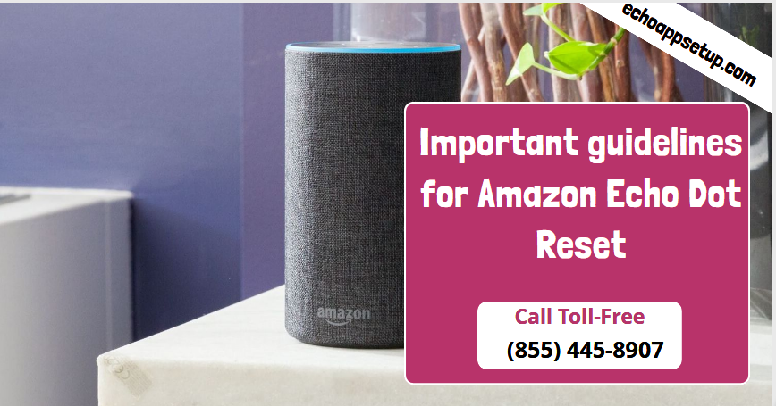 Important Guidelines For Amazon Echo Dot Reset Amazon Echo Echo Dot Echo Devices