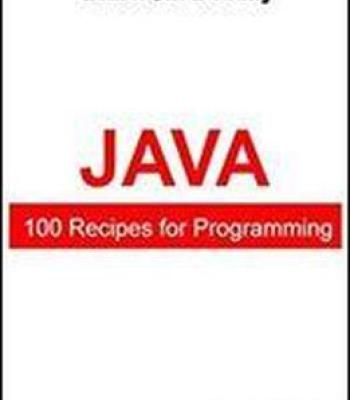 100 Recipes For Programming Java PDF | Programming | Java recipe