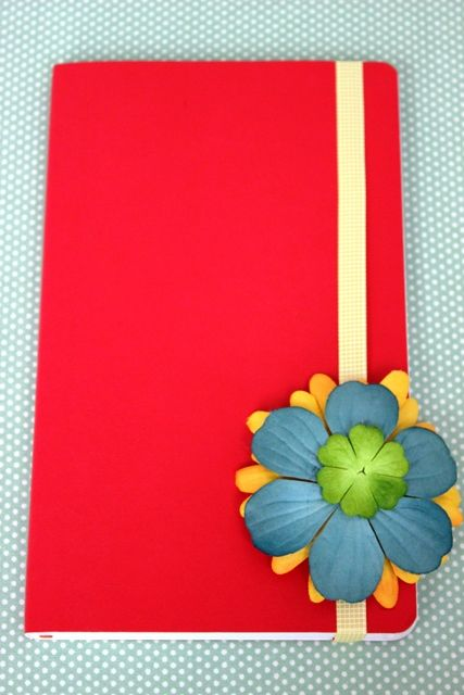 How To Decorate Back To School Notebooks With Flowers Misc Craft