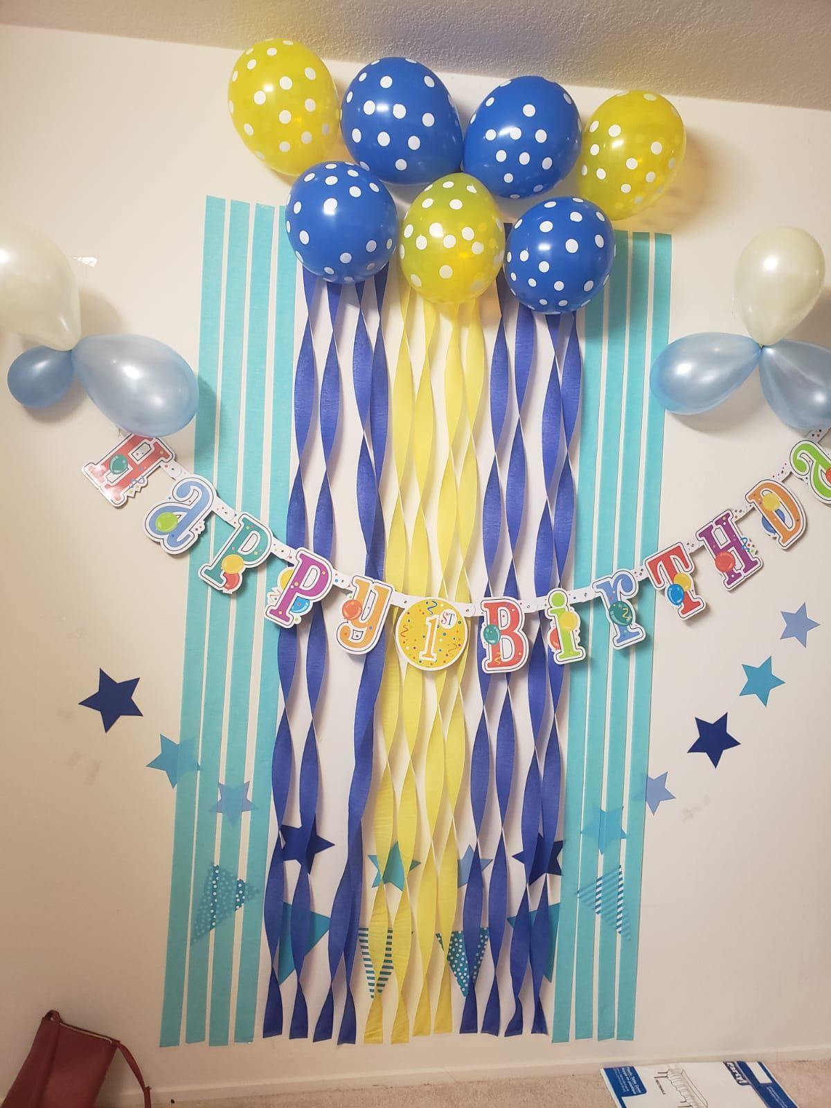 Birthday Decoration Paper Ribbon Paper Ribbon Birthday