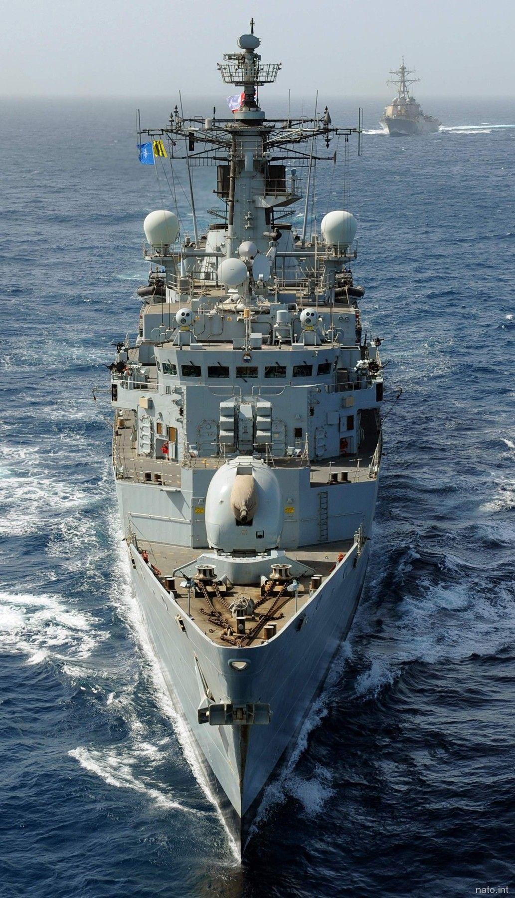 Hms Chatham F 87 Type 22 Broadsword Class Guided Missile Frigate Royal Navy Royal Navy Ships Royal Navy Old Sailing Ships