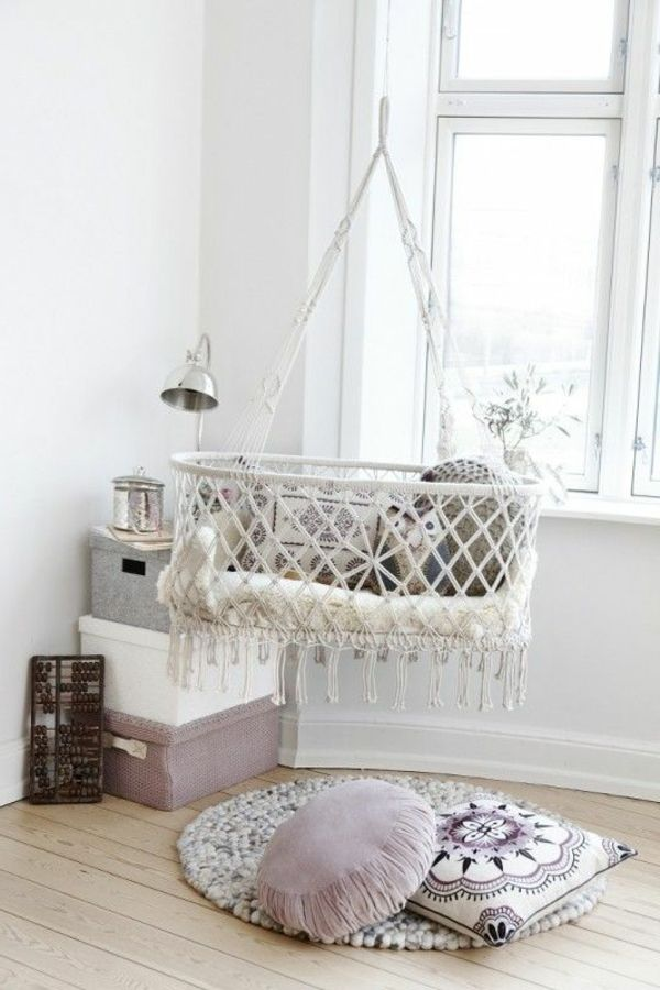 Super Schone Babyschaukel Fur Innen Baby Bed Hanging Crib Home