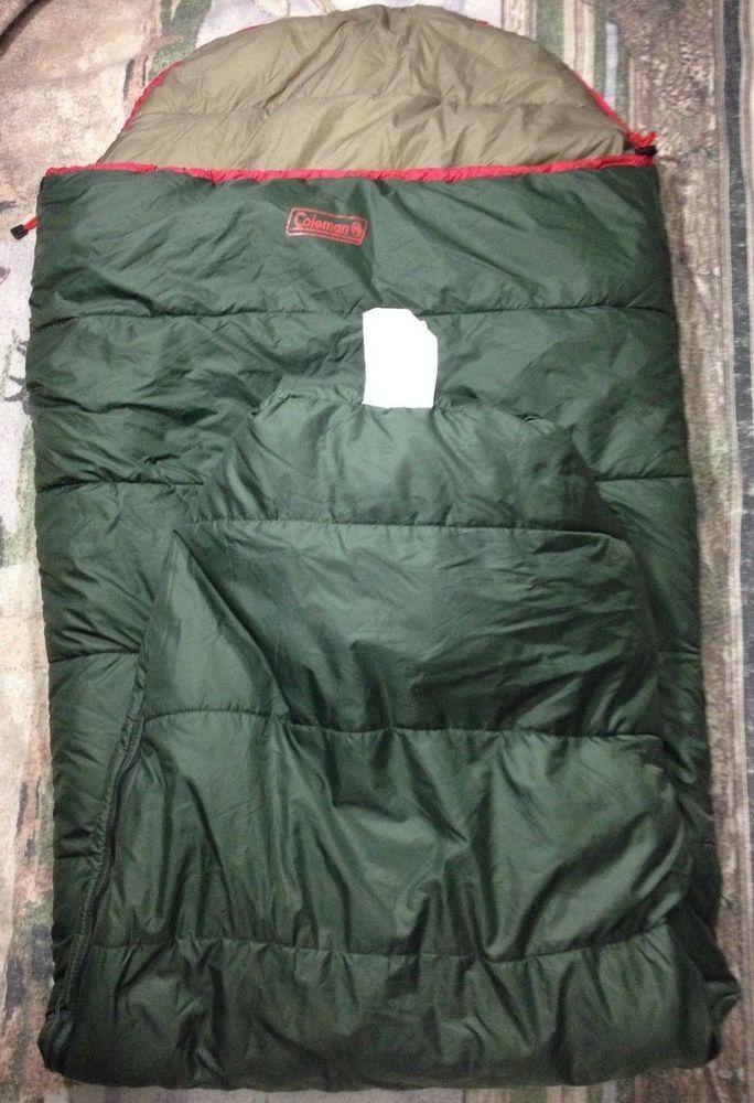 Coleman Adult Mummy 15 Degree Sleeping Bag 8985 555 Sz 32x82 3 Season