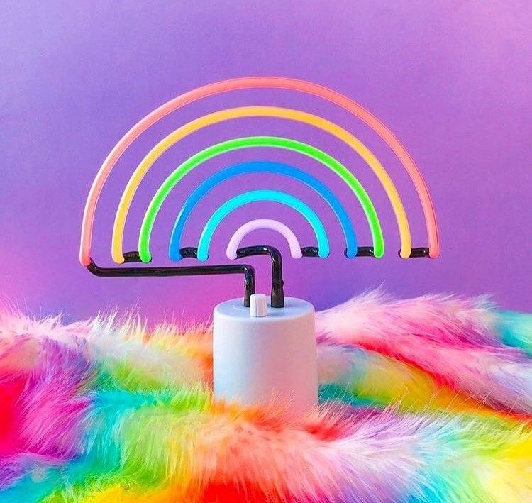 Rainbow Alien Outerspace Imatrip Xoxo Grunge Aesthetic in 2020 | Flower aesthetic