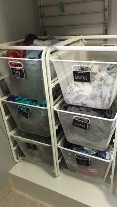 Ikea Organizing Baskets Same Size As Laundry Basket For