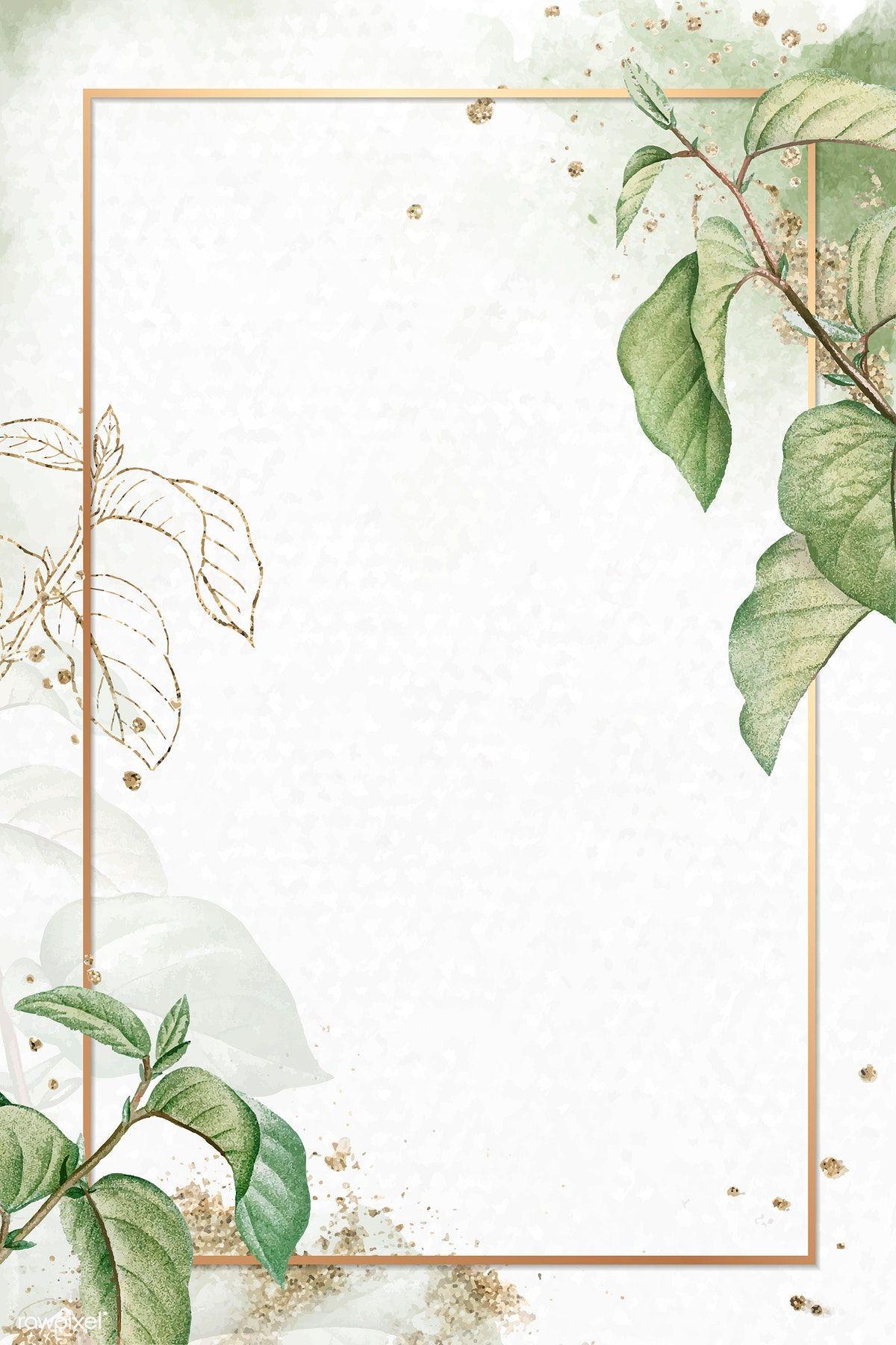 Download premium vector of Gold frame on briançon apricot ...