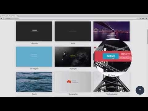 create interactive online presentations infographics animations
