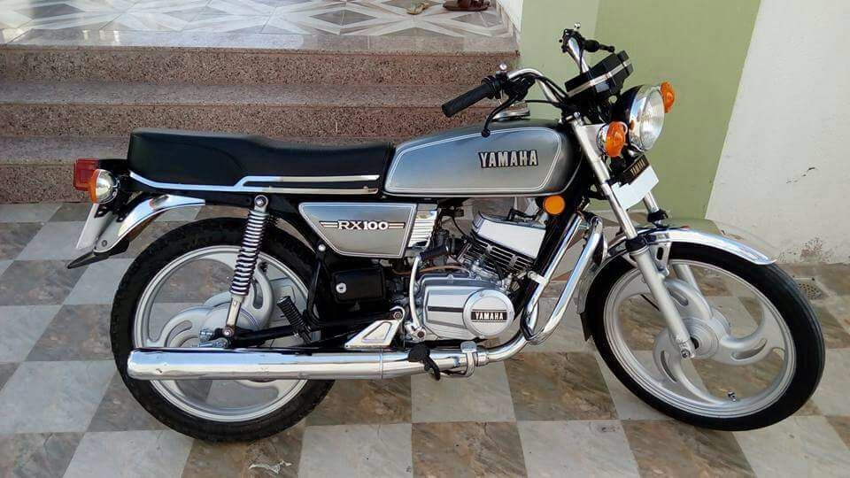 Image Result For Yamaha Rx 100 Modified Bike Yamaha Rx100