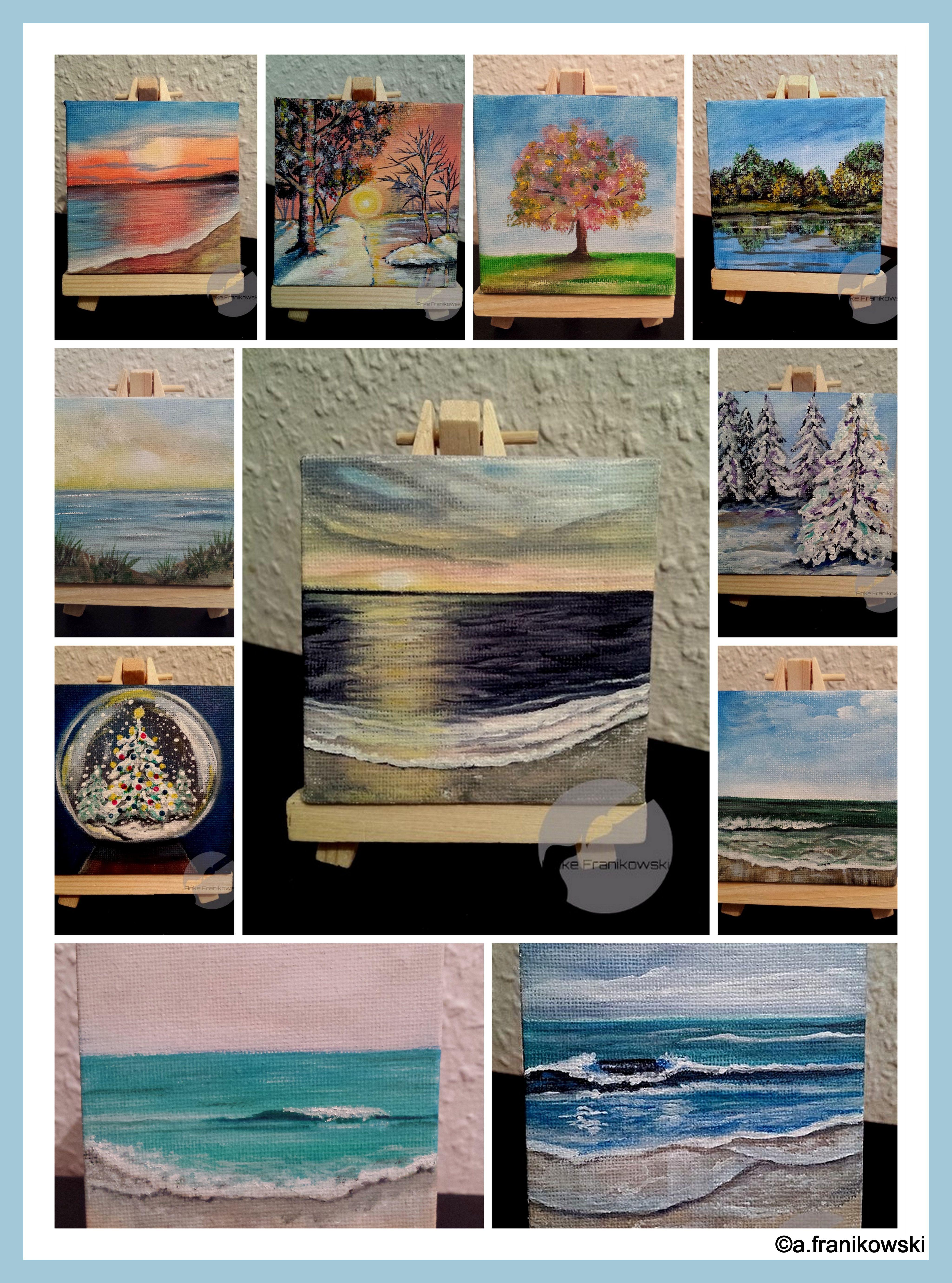 Kare Dekoobjekt Acrylbild Abstract Horizon 120x90cm Online Kaufen Otto Wandbilder Abstrakte Bilder Leinwand Malen