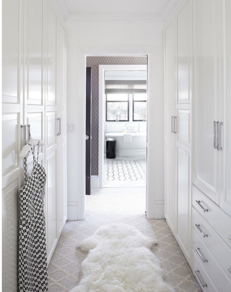 Closet Thru Master Bath With Images Master Bedroom Closet