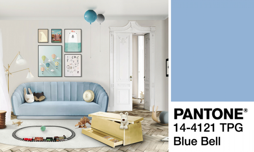 Bell Decor Classy Pantone Colors Blue Bell Decor  Pantone Color Pantone And Color Design Inspiration