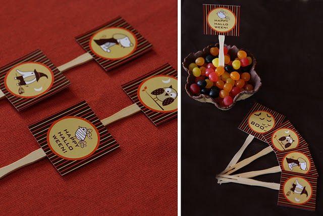 Halloween sweet table by Nina Designs ♥ Nina Designs Parties