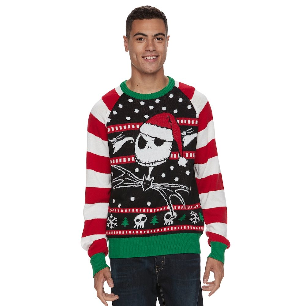 Men\'s The Nightmare Before Christmas Ugly Christmas Sweater ...