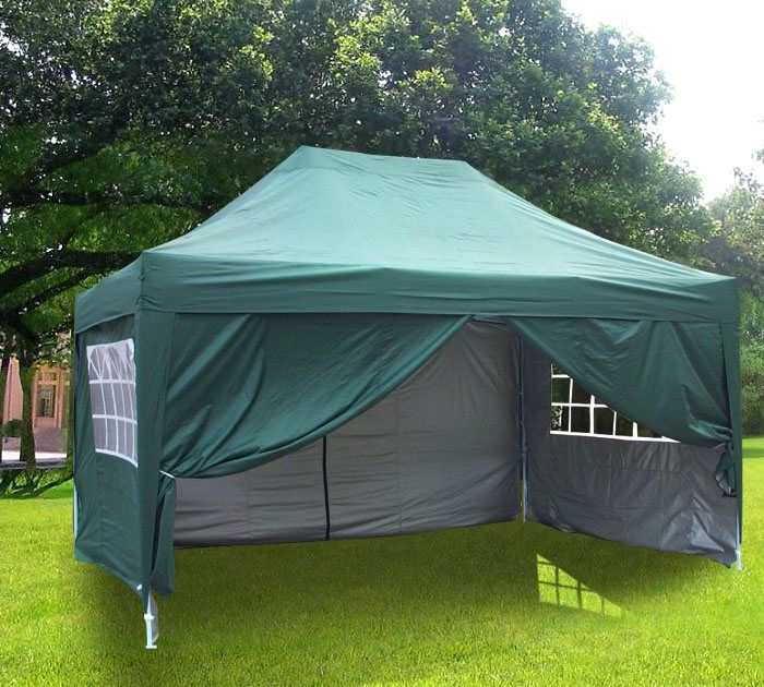 Qucitent 4season Pyramid 10 X 15 Pop Up Canopy Green Tent Design 10x10 Canopy Tent Canopy