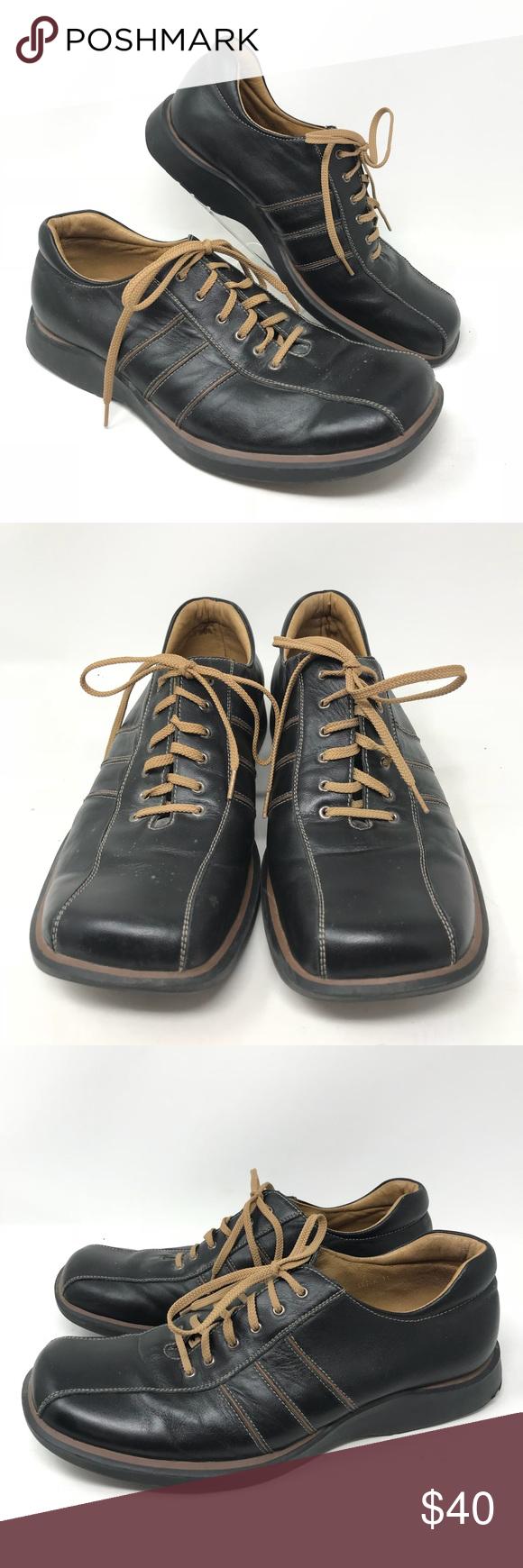 7ad3c4c3e7a Steve Madden Mens Charter 11 Shoes Steve Madden Mens Charter 11 Shoes Lace  Up Sneakers Black Brown Leather Great condition as shown Steve Madden Shoes  ...
