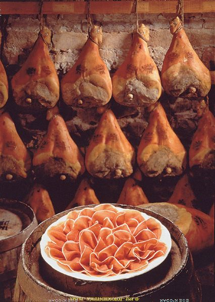 Le Jambon De Parme Un Produit De Terroir With Images Food