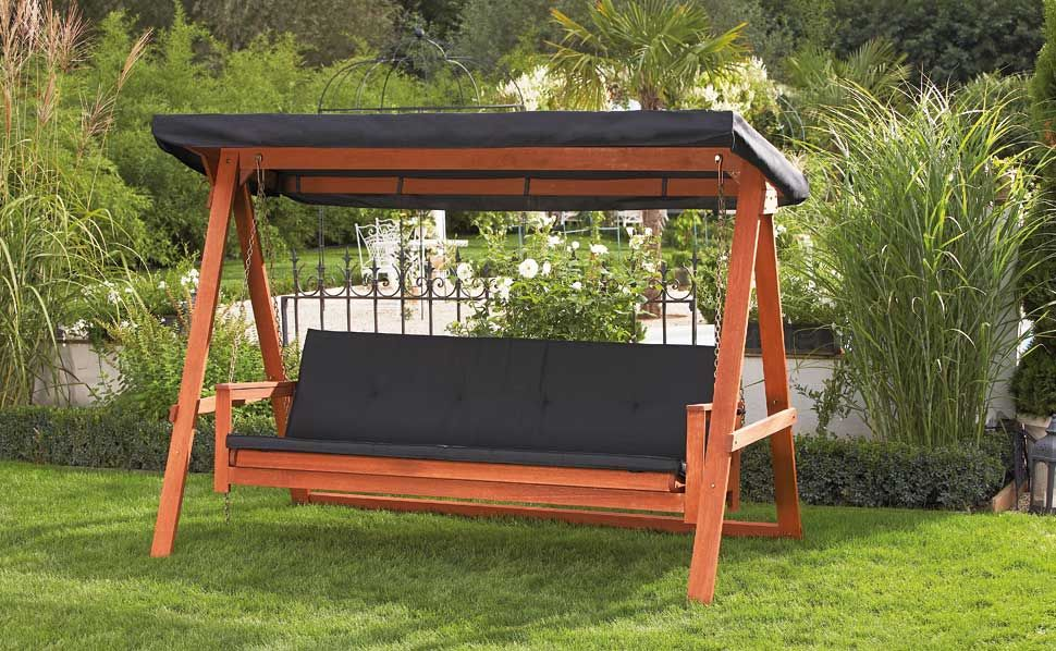 hollywoodschaukel zum liegen wunderbar gartenschaukel f r erwachsene von hornbach luxemburg. Black Bedroom Furniture Sets. Home Design Ideas