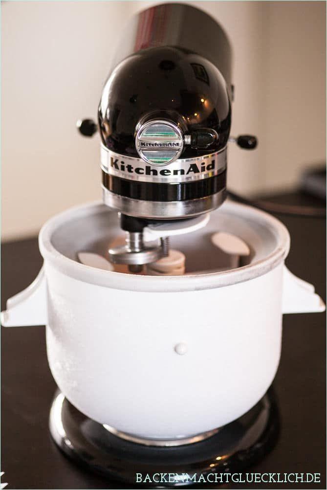 eis selber machen mit eismaschine kitchenaid rezepte rezepte eis rezepte und eis selber machen. Black Bedroom Furniture Sets. Home Design Ideas