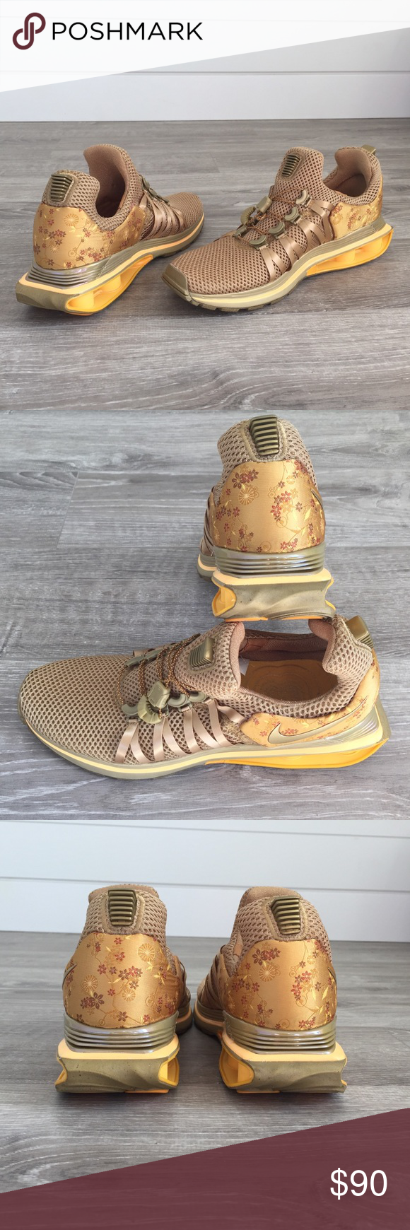 8d305bcf6de NWOB Nike Shox Gravity Running Shoes 10 Nike shox gravity women s running  shoe sneakers. Gold