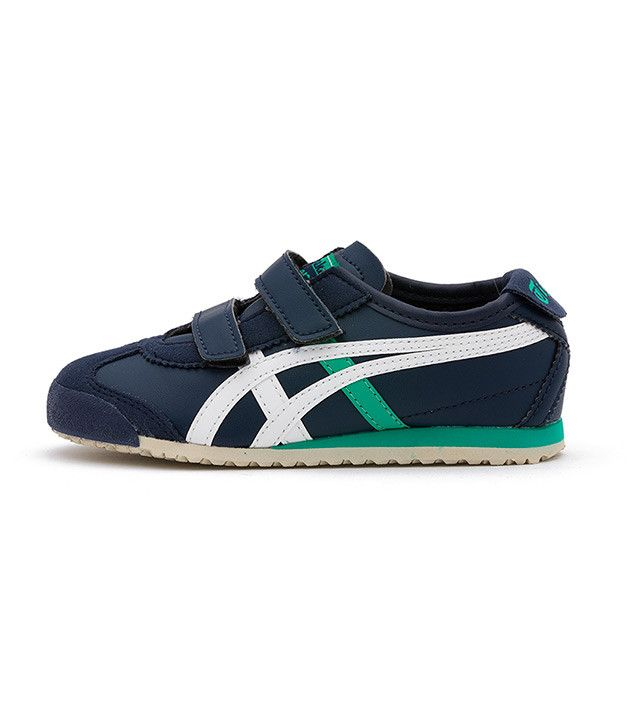 low priced ed330 0e6dd Onitsuka Tiger Mexico 66 Baja Kids PS Navy/White, Kids ...