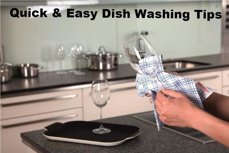 10 quick easy tips for washing dishes by hand cleaning tips from helpmeclean pinterest - Dish washing tips ...