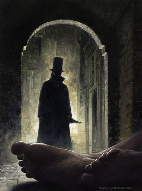Horrorandhalloween Art Jack Ripper Horror Art