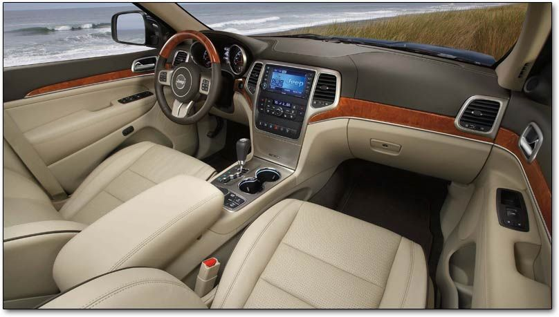 2011 Jeep Grand Cherokee Interior View Jeep Grand Cherokee