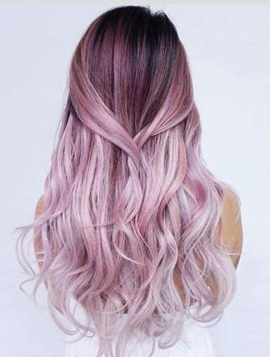 Pink Magenta Soft Ombré Hair Color Style Board Hair Styles Dyed