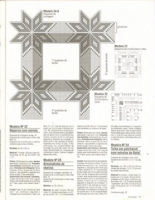 BethSteiner: Estrelas em crochê