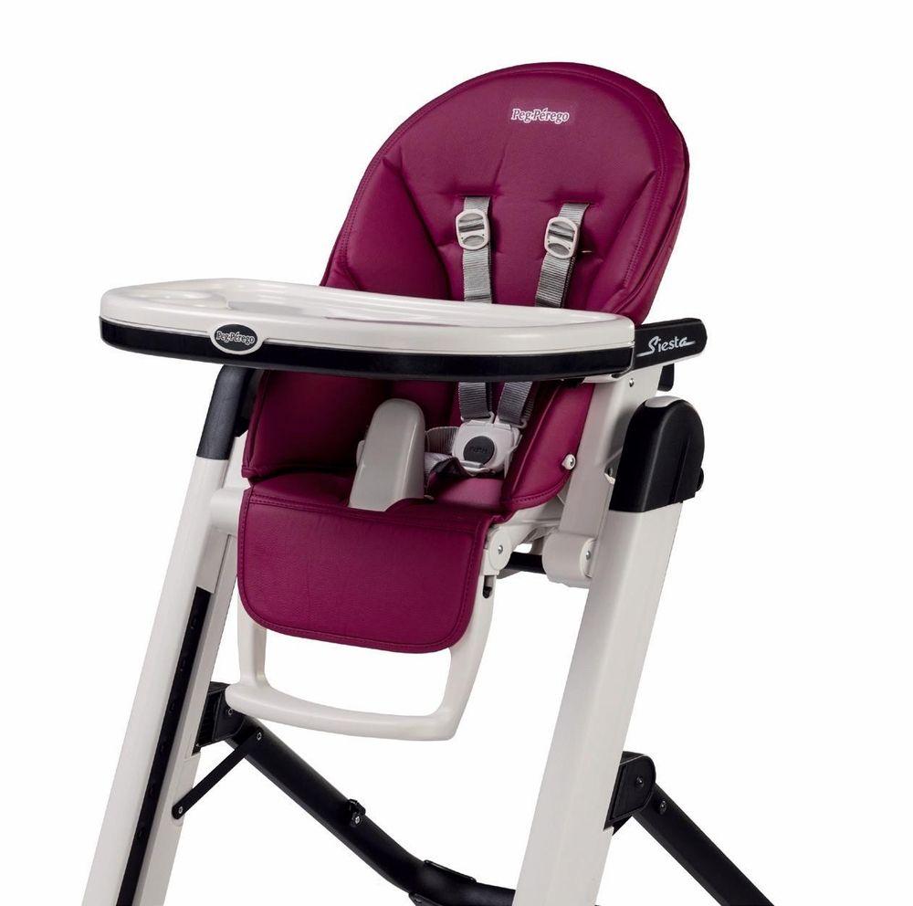 Peg perego high chair siesta - Peg Perego Siesta High Chair Berry
