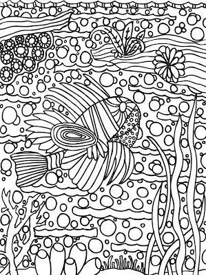 Abstract Doodles Print To Color Ausmalbilder Ausmalen Malbilder