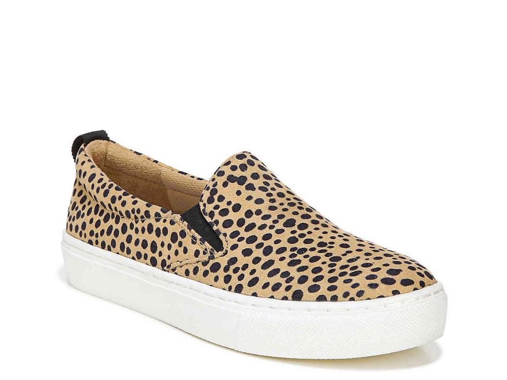 Leopard slip on sneakers, Slip on sneaker