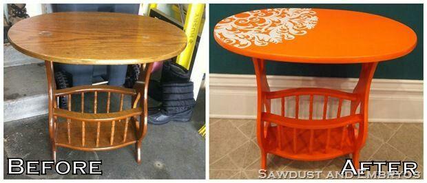 Mesa laranja