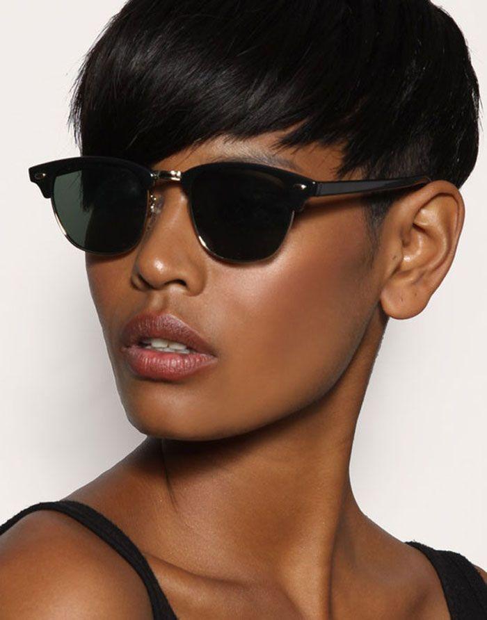 28 Trendy Black Women Hairstyles For Short Hair Natural Black