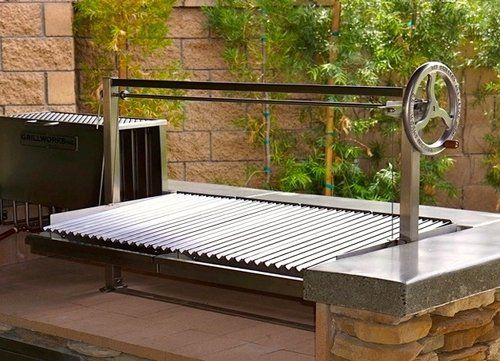 Customer Photos — Grillworks   Wood grill, Outdoor bbq ...