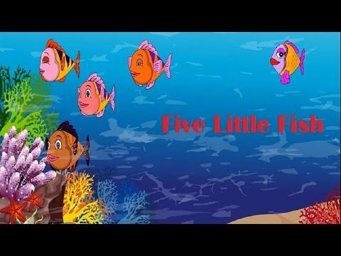 Five little fish song nursery rhyme baby songs for Baby fish song
