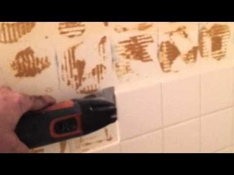 Your Handyman Removing Ceramic Tile Tile Removal Bathroom Tile Diy Bathroom Wall Tile