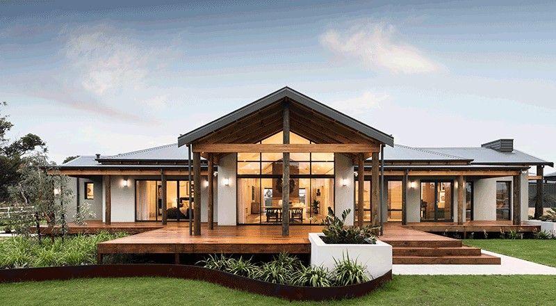 Australian Modern House Design Facade House Designs Exterior Country Home Exteriors Modern House Exterior