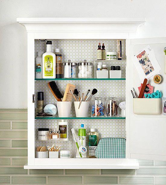Bathroom Medicine Cabinet Organization  ideas  Pinterest