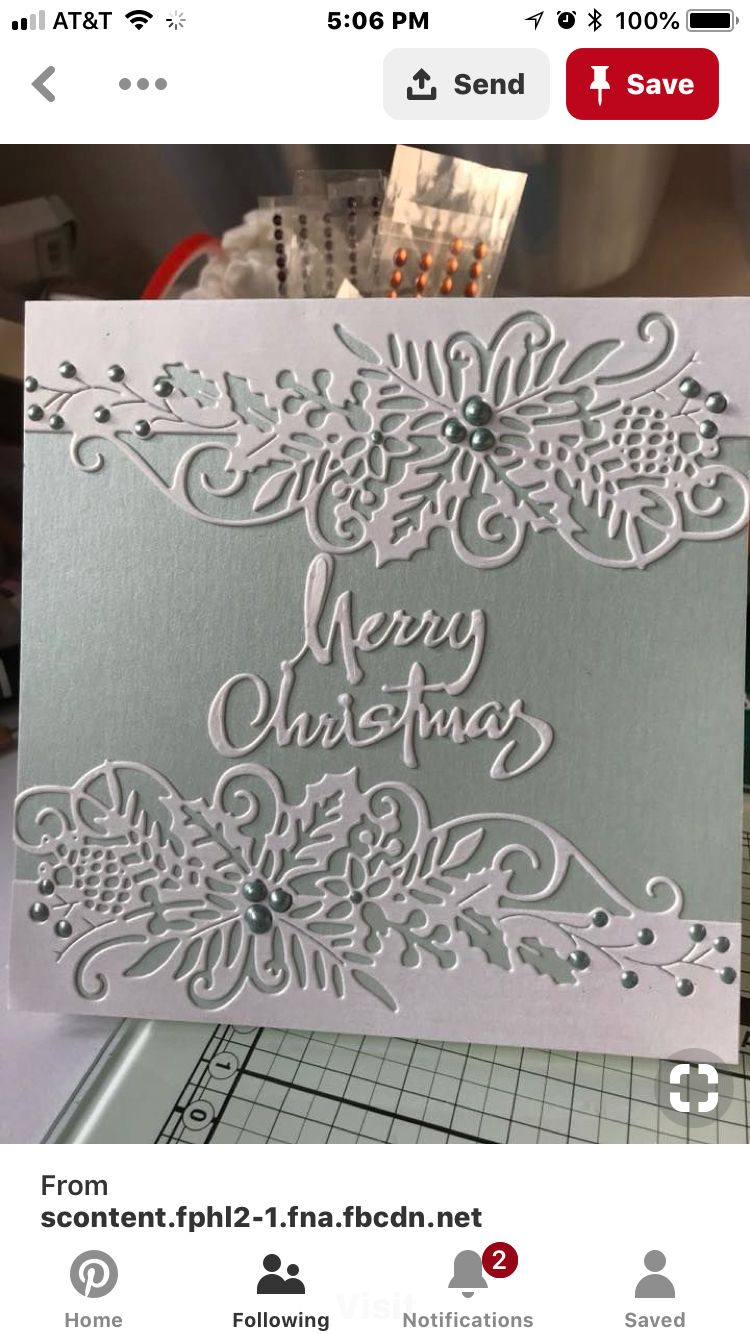 Metal Merry Christmas Die Cutter card Paper Craft Scrapbooking wrapping tags