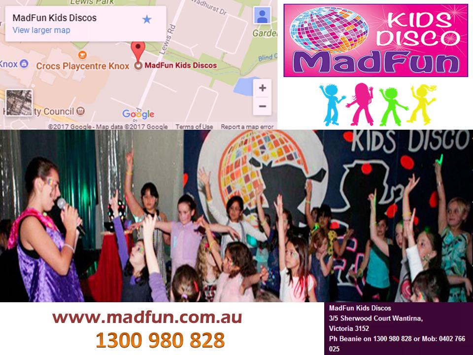 Children Birthday Party Melbourne Madfun Kids Disco Birthday - Children's birthday parties melbourne