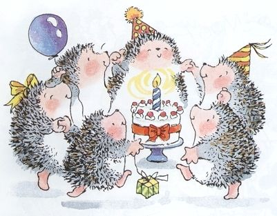 A happy birthday Hedge Style Pinterest – Portuguese Birthday Cards