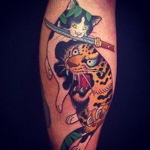 monmon cat tattoo - Buscar con Google